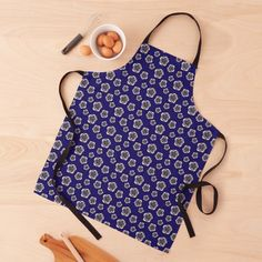 Cook stylish! cute apron design Watercolor Pattern, Abstract Pattern, Patterns In Nature, Flower Patterns, Shape Design, Print Design, Cute Aprons, Cute Fruit, Apron Designs