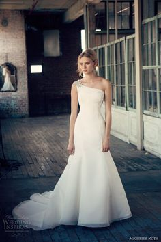 Michelle Roth Wedding Dresses 2014 Collection