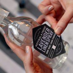 Lavender Linen Spray Labels & Recipe Freebie