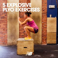 Amp up your current training regimen with these 5 plyo exercises fitness pi Plyometric Workout, Plyometrics, Workout Exercises, Body Workouts, Workout Ideas, Fitness Tips, Fitness Motivation, Health Fitness, Sweat It Out