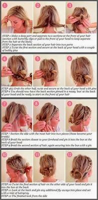 QUICK & EASY 2 MINUTE Messy Bun Tutorial For Curly Hair | Haircuts & Hairstyles for short long medium hair