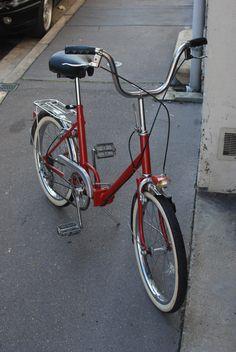 mon vélo pliable