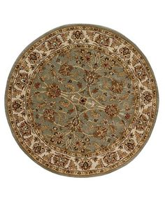 Dalyn Round Area Rug, Jansi JW31 Spa 8'