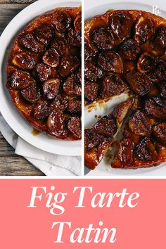 calories purewow dessert skillet recipe sweet under tatin fruit tarte easy fall fast food 500 Fig Tarte Tatin 500 caloriesFig Tarte Tatin 500 calories Peach Tart Recipes, Cranberry Salad Recipes, Fig Recipes, Fall Dessert Recipes, Pie Dessert, Fruit Dessert, Fig Tart, Roasted Figs, Perfect Mashed Potatoes