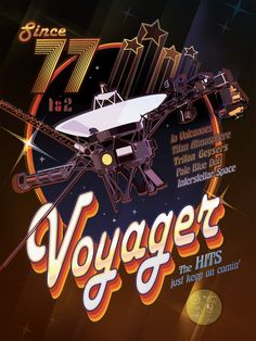 Voyager Disco Poster Download and print Nasa posters