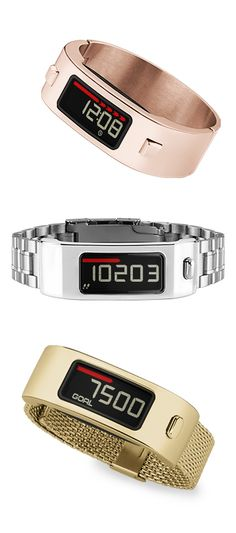 Introducing vívofit 2 and the Style Collection: an activity tracker with interchangeable designs to stay fashionably fit.