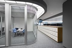 IOCC Lufthansa Control Center by Pielok Marquardt Architekten & Licht01, Frankfurt – Germany » Retail Design Blog