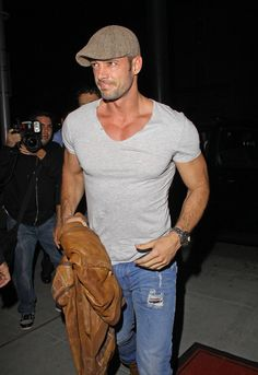 William Levy - William Levy Leaves Mastros in Beverly Hills