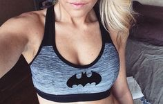 top bra sports bra sportswear batman grey bra sportsbra Join our List Batman Love, Batman Stuff, Batman Ring, Batman Batman, Nananana Batman, Batman Outfits, Geek Chic, Mode Style, Swagg