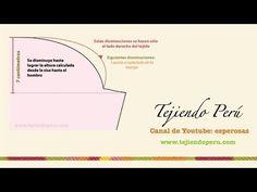 como tejer MANGAS para SUETER | Tejinelas Betina - YouTube