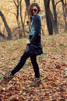 Cella Jane: Denim n Leather