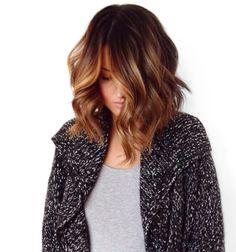 Caramel balayage- love this gorgeous hair trend Love Hair, Great Hair, Gorgeous Hair, Pretty Hairstyles, Bob Hairstyles, Bob Haircuts, Hair Color And Cut, Hair Colour, Eye Color