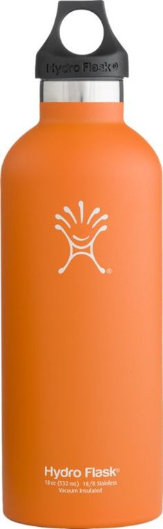 Hydro Flask Narrow-Mouth Vacuum Water Bottle - 18 fl. oz. Orange Zest 18 Fl Oz