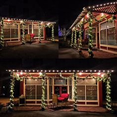 Designed decorated for our good friends over at #Roccos #amazingplace (front view) #christmas #design #decoration #thechristmasguys #christmasguys #tuesday #igers #instagood #instamood #amazing #amazing #fun #holidays  http://ift.tt/2gRebYr