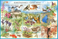 Postage stamps from the Czech Republik.  -lbk-