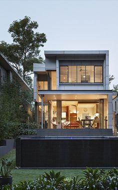 Tim Stewart Architects Baty Street, Brisbane Australia. #timstewartarchitects #residentialarchitecture