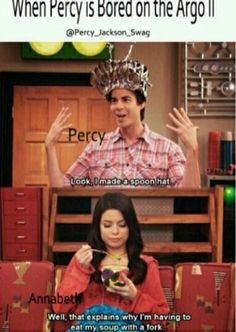 I am firmly convinced that Spencer Shay is related to Percy Jackson.<<<How do we know that Spencer Shay ISN'T Percy???