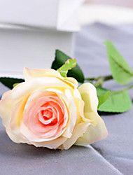 """20 """"l set di 2 cerchio rosa di stoffa di seta fiori champagne"""