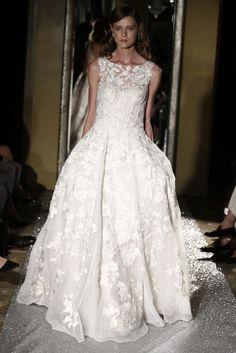 Oleg Cassini Bridal Fall 2015 - Slideshow - Runway, Fashion Week, Fashion Shows, Reviews and Fashion Images - WWD.com