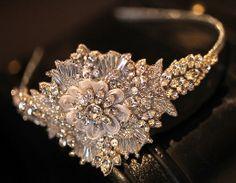 Isara Vintage Swarovski Diamante Jewelled by BanglesandRocks, £199.99