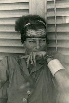 NANCY CUNARD Capri 1951