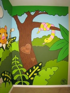 Been really busy working on this mural for a client in Long Beach, CA. Jungle Theme Nursery, Nursery Themes, Long Beach, Wedding, Art, Murals, Valentines Day Weddings, Art Background, Kunst