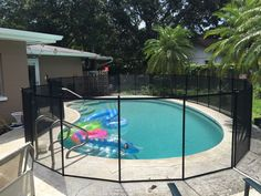 Ocoee Swimming Pools - With quality materials made right here in America, you can be sure Baby Barrier pool fence is built to last. #PoolFence #PoolSafety #BabyBarrier