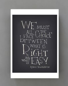 Yes. :: Harry Potter quote poster by SimpleSerene