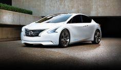 Nissan Ellure Hybrid Sedan Concept Usa Is The Evolution Of Luxury Sedans