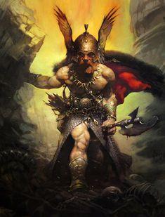 Frazetta - Viking