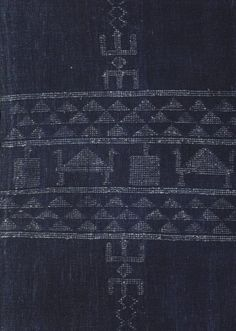Adire cloth from West Africa