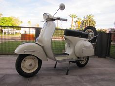 » 1962 Vespa GL150 preservation project 2nd Avenue Scooters