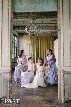Metropolitan Building Bridesmaids   Photo by Caroline Frost Photography New York and Destination Wedding Photographer