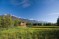 Beautiful Teton Pines Estate Lot ~ Bordering the 10th fairway of the Arnold Palmer designed golf course lends large open space acreage to the property. Two streams add a tranquil buffer to this beautiful setting offering dramatic mountain views including the snow capped Grand Teton. Prestigious Greens Place address. Jackson Hole, Wyoming. $1,150,000. www.spackmansinjacksonhole.com (13-1753)