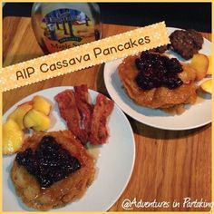 These delicious AIP pancakes have a yummy, crispy edge and are made with cassava flour which makes them totally AIP and paleo. Now you can have pancakes for breakfast again. Paleo Breakfast, Breakfast Recipes, Breakfast Ideas, Clean Breakfast, Paleo Pancakes, Thing 1, Paleo Recipes, Flour Recipes, Yuca Recipes