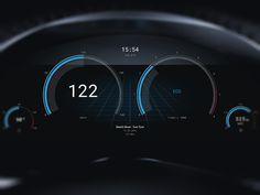 Car UI by Andreas Frank #Design Popular #Dribbble #shots