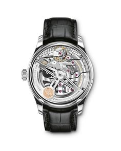IWC has created a special boutique-only limited edition watch: the IWC Portugieser Annual Calendar Edition Tribeca Film Festival Iwc Watches, Watches For Men, International Watch Company, Tribeca Film Festival, Luxury Watches, Stainless Steel Case, Black Leather, Accessories, Schmuck