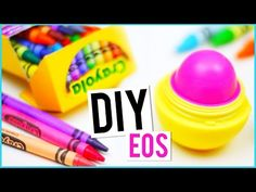 came across this awesome diy on youtube! can't wait to try this out! maybe not even with an eos container!?