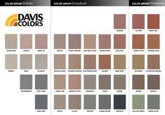 Our concrete color sandstone 5237 by davis colors the house
