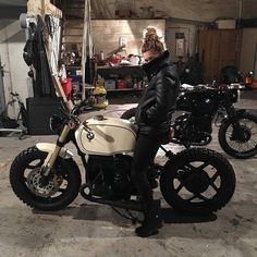 Likes, 57 Comments - Cafe Racers Bmw Cafe Racer, Cafe Racers, Cafe Bike, R65, K100, Bmw Scrambler, Bmw Boxer, Ural Motorcycle, Motorcycle Outfit