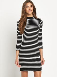Very - Tinny Stripe Dress, http://www.very.co.uk/vila-tinny-stripe-dress/1436934022.prd