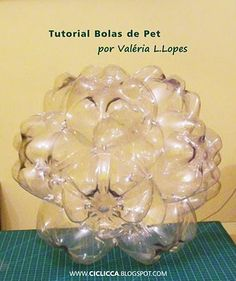 PET bottles ball