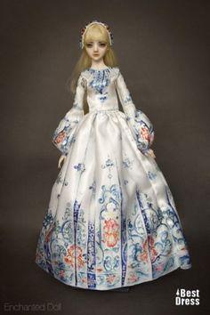 Gallery.ru / Фото #1 - Чарующие куклы Марины Бычковой - Markara