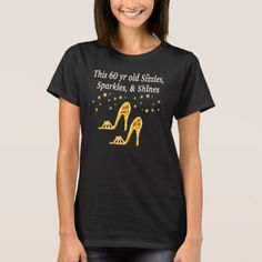 GORGEOUS GOLD 60TH BIRTHDAY T-Shirt - tap, personalize, buy right now!