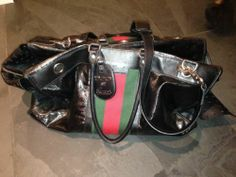Gucci 500 Black Pet Dog Carrier Bag LARGE - Used SOLD OUT Retail $3995