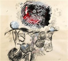 Artwork by Aviva Uri, Untitled, Made of Panda and gouache on paper