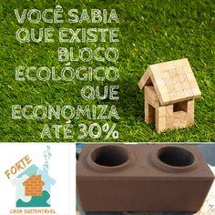 BOM DIA.   CONHEÇA O BLOCO DE 30X15X14 QUE RENDE 23 PEÇAS POR M²   Damos aquela FORÇA na realização do seu sonho da Casa Própria com tijolos ecológicos. 11930006679   #tijolos #ecologicos #casa #sustentabilidade #consorciotijolosecologicos #forteengenhariasustentavel Outdoor Decor, House, Home Decor, Sustainable Engineering, Bricks, Sustainability, Good Day, Dreams, Houses