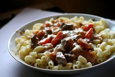 A ZSUZSI FŐZ!: Vadas marhatokány Macaroni And Cheese, Ethnic Recipes, Food, Mac Cheese, Mac And Cheese, Hoods, Meals