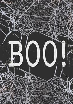 Free 'BOO!' Halloween Printable A4 or Letter size
