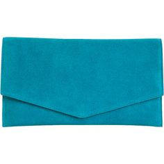Cole Haan Crosby Suede Envelope Clutch found on Polyvore